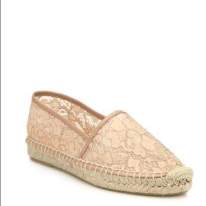 DVF Lace Espadrilles size 9 NWT